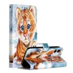 New Pattern Printing Leather Wallet Stand Phone Cover for iPhone 12 5.4 inch – Little Tiger