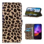 Leopard Wallet Leather Case Phone Cover for Samsung Galaxy S20 Fan Edition