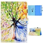 Printing Skin Leather with Card Holder Tablet Shell for Samsung Galaxy Tab S7 T870 – Life Tree
