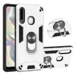 Detachable 2 in 1 with Rotatable Kickstand PC + TPU Cover for Samsung Galaxy A70e – White