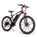 SMAEBIKE MY-SM26 Moped Electric Bike 26Inch Urban Offroad Mountain 350W 48V 35KM/H with 70KM Milage Adults Electric Bicycle