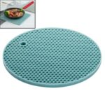 XIAOMIYOUPIN JORDAN JUDY HO018 Double-sided Honeycomb Place Mat Insulation Placemat Silicone Round Double-sided Placemat Kitchen Thicken Anti-scald Placemat Table Mat – Dark Blue