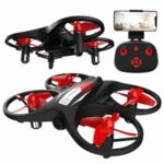 KF608 Mini Remote Control Quadcopter HD Aerial Photography Drone With 720P WiFi Camera