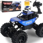 Electric Car 1:14 RC Car 2.4G 4WD Remote Control High Speed Off-road Vehicle Toy [58666E] – Blue