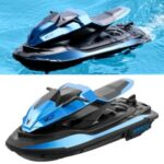 JJRC S9 2.4G Remote Control Racing Boat Dual Motor RC Boat – Blue