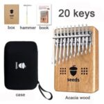 20-Key Kalimba Finger Thumb Piano with Storage Case Accessories & Gifts Set – Box Body