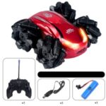 JZL 2555 1:24 27MHZ RC Car Electric Drift Stunt Vehicles with LED Light RTR Model – Red