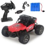 1:18 2.4G Off-Road RC Racing Car High Speed Remote Control Truck Toy – Red
