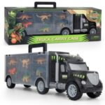 Dinosaur Container Toy Truck Carrier Truck Toys DIY Storage Set Transport Car Toy Child Toy