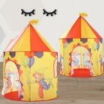 Portable Kids Indoor Outdoor Game Play Tent Yurt Castle – Circus