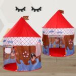 Portable Kids Indoor Outdoor Game Play Tent Yurt Castle – Pirate