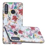 Electroplating IMD TPU Cover Case for Huawei P30 Lite / P30 Lite New Edition / Nova 4e – Style A