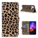 Leopard Pattern Wallet Stand Leather Shell for Wiko View 5/View 5 Plus Case