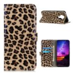 Leopard Pattern Wallet Stand Leather Cover for Nokia 3.4 Case