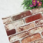 45cm*10m Brick Wallpaper Self-Adhesive Brick Textured Wallpaper Film for Room Decor – 5074