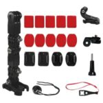 Motorcycle Helmet Chin Mount Camera Holder Kit for GoPro Hero 9/8/7/5 Action Camera