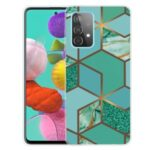 For Samsung Galaxy A32 Marble Pattern Printing TPU Protector Cover – Style A