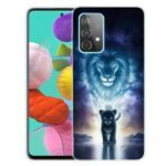 Hot Style for Samsung Galaxy A32 Pattern Printing TPU Cover Phone Case – Lion