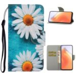 PU Leather Wallet Stand Phone Case for Xiaomi Mi 10T Pro 5G / Mi 10T 5G / Redmi K30S – Chrysanthemum