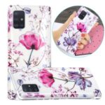 IMD Marble Pattern Printing TPU Cover for Samsung Galaxy A51 5G SM-A516 Case – Lotus