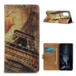Unique Pattern Printing Wallet Stand Design Cover Protective Case for Samsung Galaxy A02s (EU Version) – Tower