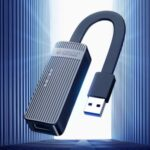 ORICO UTK-U2-BK 100Mbps USB to Ethernet Adapter – Blue