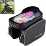 GUB 925 Touch Screen Mobile Phone Bag Bicycle Front Bag with Sun Visor