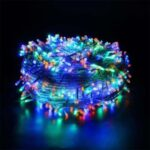 Twinkle Star 300-LED Christmas Fairy String Lights 8 Lighting Modes Waterproof Lights for Holiday Wedding Party – Colorful