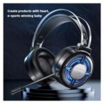 HP H120G /7.1 Sound Stereo Wired Gaming Headset Headphone with Mic Noise Cancellation Colorful Light for PC Laptop