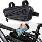 WEST BIKING Reflective Bicycle Seat Tube Bag Waterproof MTB Road Cycling Storage Bag
