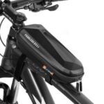 WEST BIKING YP0707255 1.5L Bicycle Hard Shell Bag EVA Waterproof Front Bag Front Top Tube Cycling Pouch