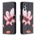 Pattern Printing Leather Wallet Case for Samsung Galaxy A32 4G (EU Version) – Vivid Flower