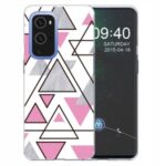 Marble Pattern TPU Phone Back Cover Case for OnePlus 9 Pro – Style A
