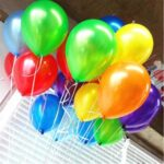 100Pcs/Bag 10-inch Round Balloons Birthday Party Wedding Ball Decoration [Colour Mixture]