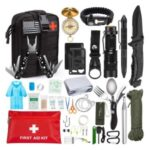 20Pcs/Set AGCY-11 Professional Survival Gear Equipment Tools First Aid Supplies for SOS Emergency Tactical Hiking Hunting