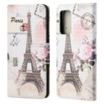 Cross Texture Wallet Design New Pattern Printing Leather Stand Case for Samsung Galaxy A82 5G – Tower