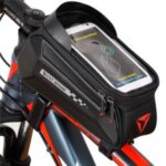 WEST BIKING YP0707261 Outdoor Cycling Waterproof Bicycle Front Tube Bag for 7.0inch Touch Screen Phone
