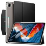 ESR Yippee Series Trifold Convenient Magnetic Attachment Smart Case for iPad Pro 12.9-inch (2021) – Translucent Black