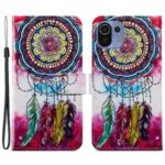 Wallet Design Pattern Printing Leather Phone Case Stand Cover for Xiaomi Mi 11 Lite 4G/5G – Dreamcatcher
