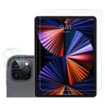 Arc Edge Ultra Clear Tempered Glass Screen Protector + Camera Lens Film Guard for iPad Pro 12.9-inch (2021)/(2020)