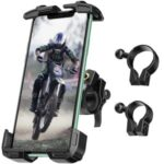 ANVASK FL-201 Motorcycle Bike Handlebar Mobile Phone Mount Holder Stand Support for 4.7-6.8 inch Phone