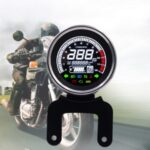 WUPP CS-782A1 LCD Light Digital Speedometer 12V Motorcycle Replacement Tachometer Odometer Fuel Gauge Oil