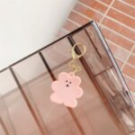 For Apple AirTag Case Cookie Bear Tracker Cover – Pink