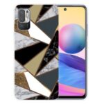 Marble Pattern Soft TPU Cover Phone Back Case for Xiaomi Poco M3 Pro 4G / 5G / Redmi Note 10 5G – Style A