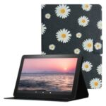 Pattern Printing PU Leather Stand Tablet Case with Card Slots for  Amazon Fire HD 10 (2021) / Fire HD 10 Plus (2021) – Style A