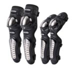 SULAITE GT-341 4pcs/set Motorcycle Protector Knee Pads Elbow Protector Stainless Steel Protective Guards
