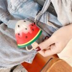 For Apple AirPods 1/2 Pro Silicone Cover Watermelon Popsicles Bluetooth Earphones Case – For AirPods 1/2