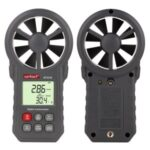 WINTACT WT87B Digital Anemometer Thermometer Tester Portable Handheld Wind Speed Meter with USB Bluetooth